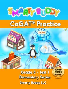 Book Cover: Smarty Buddy CoGAT Practice