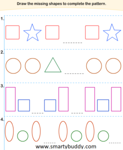 Smarty Buddy Tracing Patterns