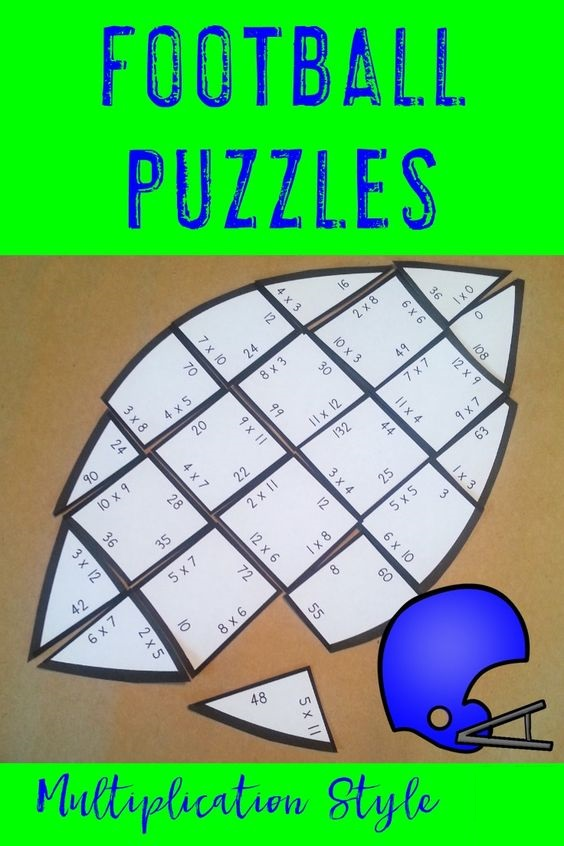 Super Bowl Multiplication Puzzle